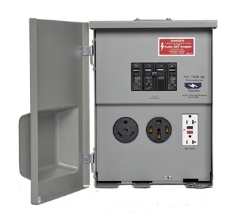 80 Amp Power Outlet With Breakers Cesmpsc75grhr