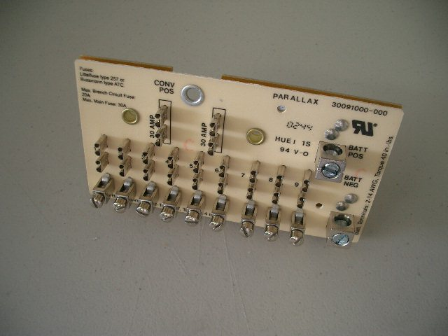 7300/8300 Series Fuse Board on