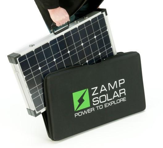 Zamp 160 Watt Portable Solar Charging System Zs Us 160 P