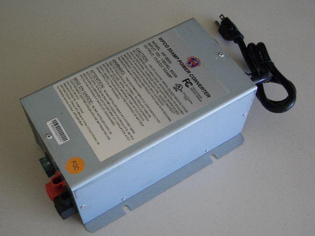 Wfco 9855 55 Amp Deckmount Converter