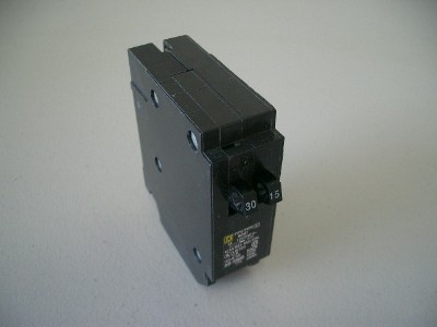Twin 30-15 Amp Circuit Breaker