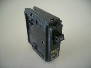 20 Amp Single Pole Circuit Breaker