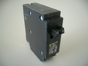 Twin 20-15 Amp Circuit Breaker