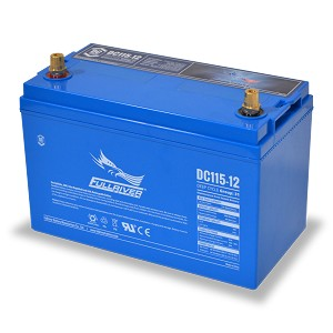 Fullriver 12 Volt 115 AH AGM Battery DC115-12