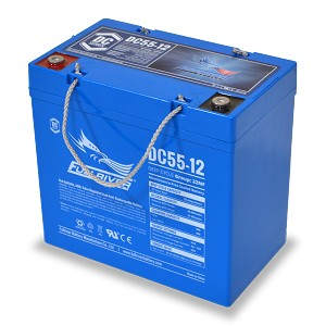 Fullriver 12 volt AGM Battery DC55-12