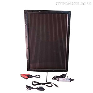 TM-524 Optimate Solar Pulse Charger w/6 Watt Panel