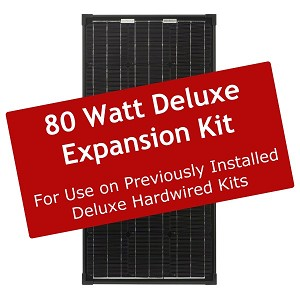 Deluxe 80 Watt Solar Expansion Kit – ZS-EX-80-DX