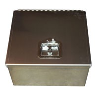 Single Battery Box (Complete Enclosed w/Back)