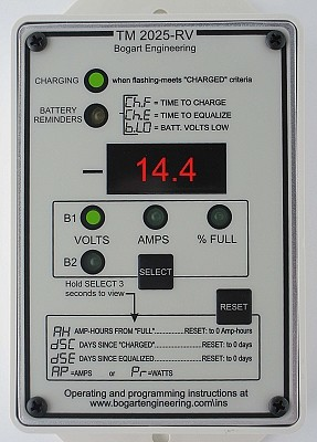 Trimetric 2025RV Battery System Monitor