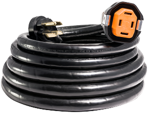 R50304 | 50 AMP 30' DUAL CONFIGURATION SMARTPLUG CORDSET W/ RV PARK POWER END