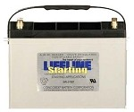 GPL-2700T 12 Volt, 1020 Cold Cranking Amps Starting Battery AGM