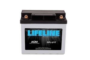 GPL-U1T 12 Volt, 33 Amp Hour Deep Cycle AGM