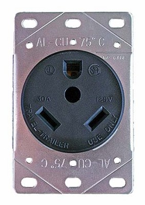 30 Amp Female Receptacle
