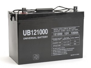 UB121000 100 AH Deep Cycle