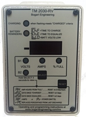 Trimetric 2030RV Battery System Monitor
