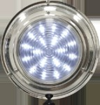 Stainless Dome Light, 5 1/2 In